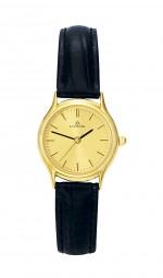 Damen-Uhr goldfb.+LB